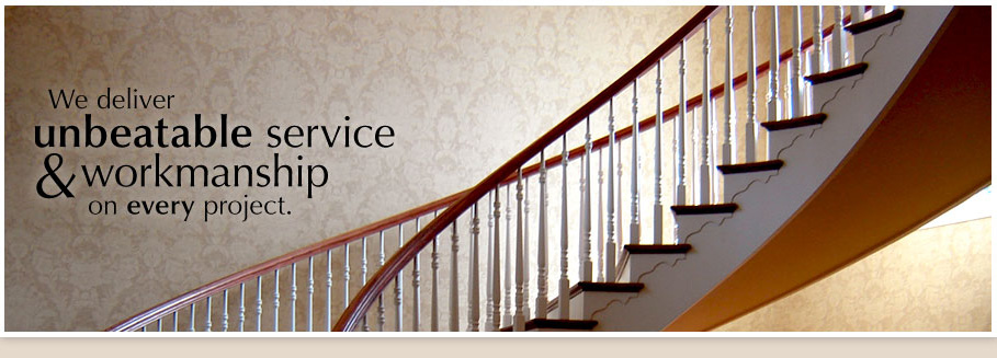 We deliver unbeatable service and workmanship on every project.
